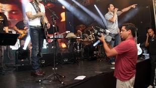 Foto Quintal da Clube com Zezé Di  Camargo & Luciano 42