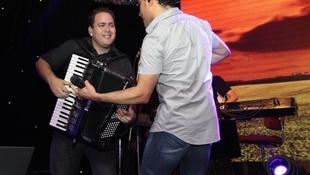 Foto Quintal da Clube com Zezé Di  Camargo & Luciano 54