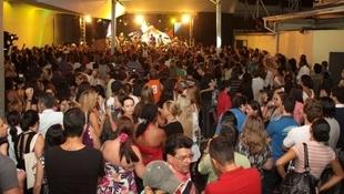 Foto Quintal da Clube com Zezé Di  Camargo & Luciano 85