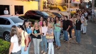 Foto Quintal da Clube com Zezé Di  Camargo & Luciano 88