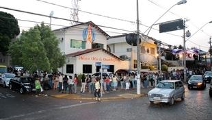 Foto Quintal da Clube com Zezé Di  Camargo & Luciano 91