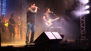 Foto Jorge & Mateus na Abasc 7