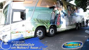 Foto Quintal da Clube com Matheus & Kauan 1