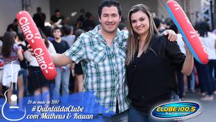 Foto Quintal da Clube com Matheus & Kauan 17