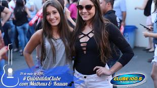 Foto Quintal da Clube com Matheus & Kauan 20