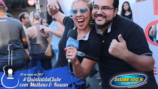 Foto Quintal da Clube com Matheus & Kauan 27