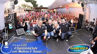Foto Quintal da Clube com Matheus & Kauan 49