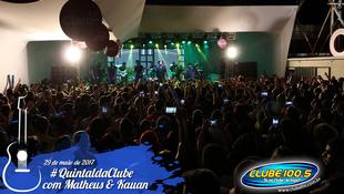 Foto Quintal da Clube com Matheus & Kauan 57
