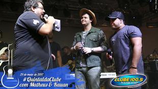 Foto Quintal da Clube com Matheus & Kauan 69