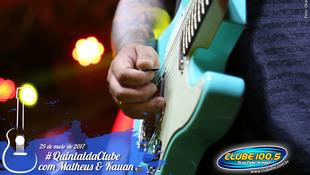 Foto Quintal da Clube com Matheus & Kauan 70