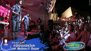 Foto Quintal da Clube com Matheus & Kauan 82