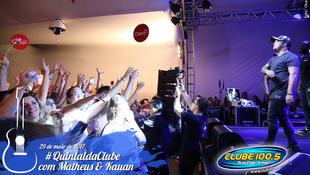 Foto Quintal da Clube com Matheus & Kauan 90