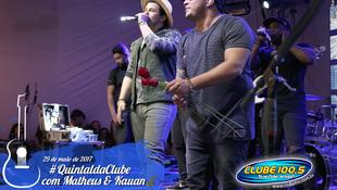 Foto Quintal da Clube com Matheus & Kauan 91