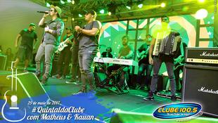 Foto Quintal da Clube com Matheus & Kauan 92