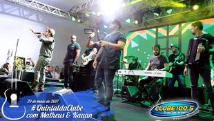 Foto Quintal da Clube com Matheus & Kauan 94