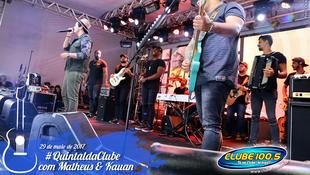 Foto Quintal da Clube com Matheus & Kauan 97