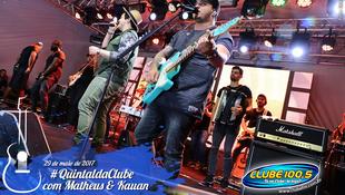 Foto Quintal da Clube com Matheus & Kauan 98
