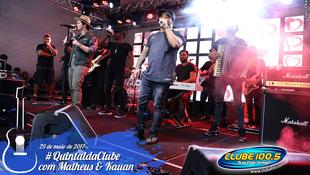 Foto Quintal da Clube com Matheus & Kauan 106