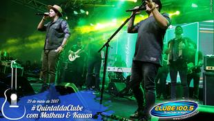 Foto Quintal da Clube com Matheus & Kauan 116