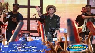 Foto Quintal da Clube com Matheus & Kauan 123