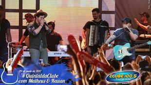 Foto Quintal da Clube com Matheus & Kauan 125