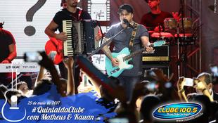 Foto Quintal da Clube com Matheus & Kauan 130