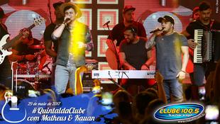 Foto Quintal da Clube com Matheus & Kauan 137