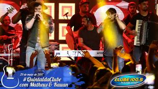Foto Quintal da Clube com Matheus & Kauan 138