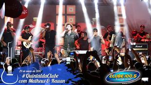 Foto Quintal da Clube com Matheus & Kauan 140