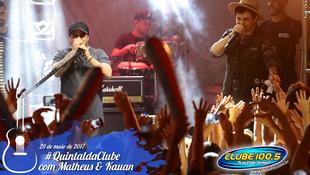 Foto Quintal da Clube com Matheus & Kauan 142
