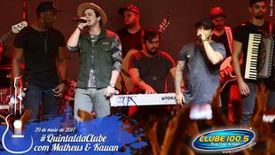 Foto Quintal da Clube com Matheus & Kauan 150