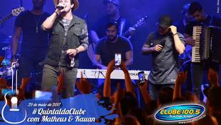 Foto Quintal da Clube com Matheus & Kauan 151