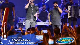 Foto Quintal da Clube com Matheus & Kauan 157