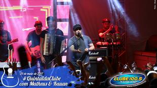Foto Quintal da Clube com Matheus & Kauan 160
