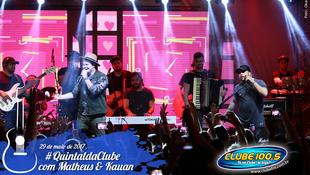 Foto Quintal da Clube com Matheus & Kauan 161