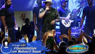 Foto Quintal da Clube com Matheus & Kauan 163