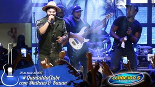 Foto Quintal da Clube com Matheus & Kauan 164