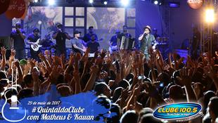 Foto Quintal da Clube com Matheus & Kauan 174