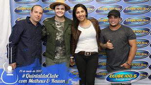 Foto Quintal da Clube com Matheus & Kauan 190