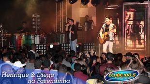 Foto Henrique & Diego na Fazendinha 91