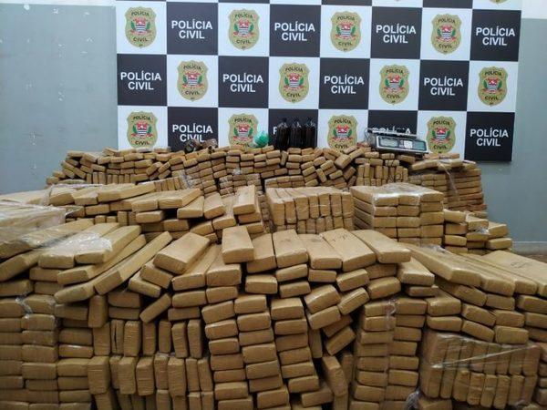 Polícia Civil de Ribeirão Preto apreende mais de uma tonelada de maconha