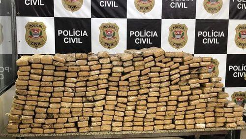 Polícia apreende 281 Kg de maconha na Rodovia Anhanguera