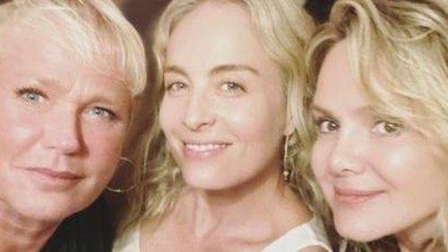 Xuxa, Angélica e Eliana tem encontro histórico que agita a web