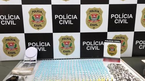 Dise localiza drogas com auxílio de cão farejador em Ribeirão Preto