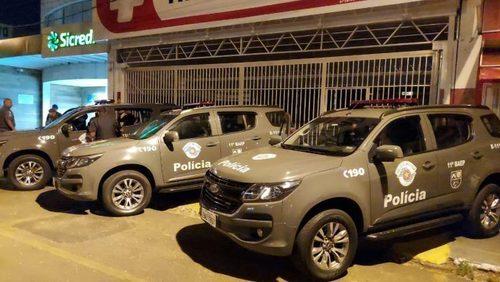 Dois são presos em tentativa de furto à agência bancária em Franca
