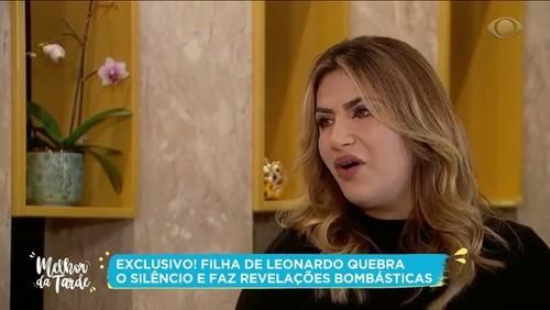 Filha de Leonardo quebra o silêncio e faz grandes revelações