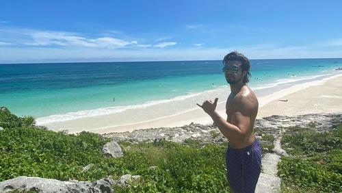 Luan Santana fica isolado no México por conta do Furacão Zeta
