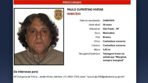 PM do Paraná afirma que Paulo Cupertino foi preso; Secretaria de Segurança Pública de SP nega