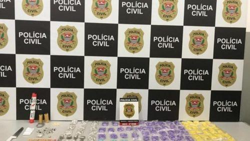 Polícia Civil apreende cerca de 1,8 mil porções de drogas em Ribeirão Preto