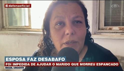 Esposa de homem espancado até a morte diz que foi impedida de ajudar